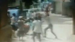 نجات باورنکردنی کودک حین سقوط از آپارتمان!