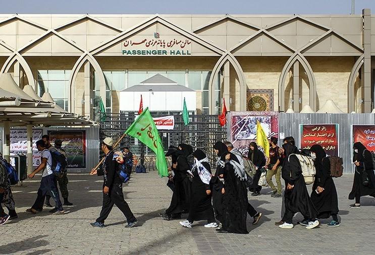 تردد یکمیلیون و ۲۰۱ هزار تبعه خارجی از مرز مهران