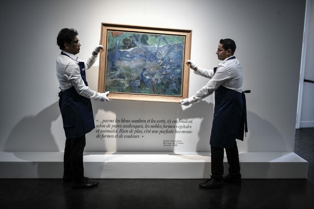 اثر نقاش معروف فرانسوی ۱۰ میلیون دلار فروخته شد