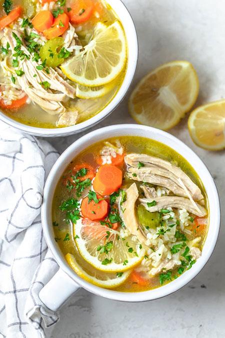 سوپ جوجه لیمویی؛ تو این سرما میچسبه!////ثباتی