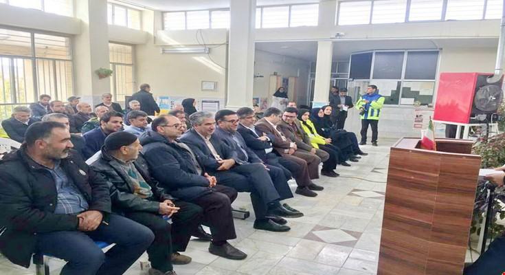 پایگاه امداد و نجات جادهای بخش قره کهریز در شهرستان اراک افتتاح شد