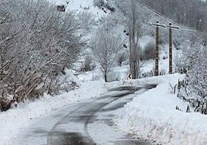 اخطاریه هواشناسی در خصوص بارش برف و رخداد صاعقه