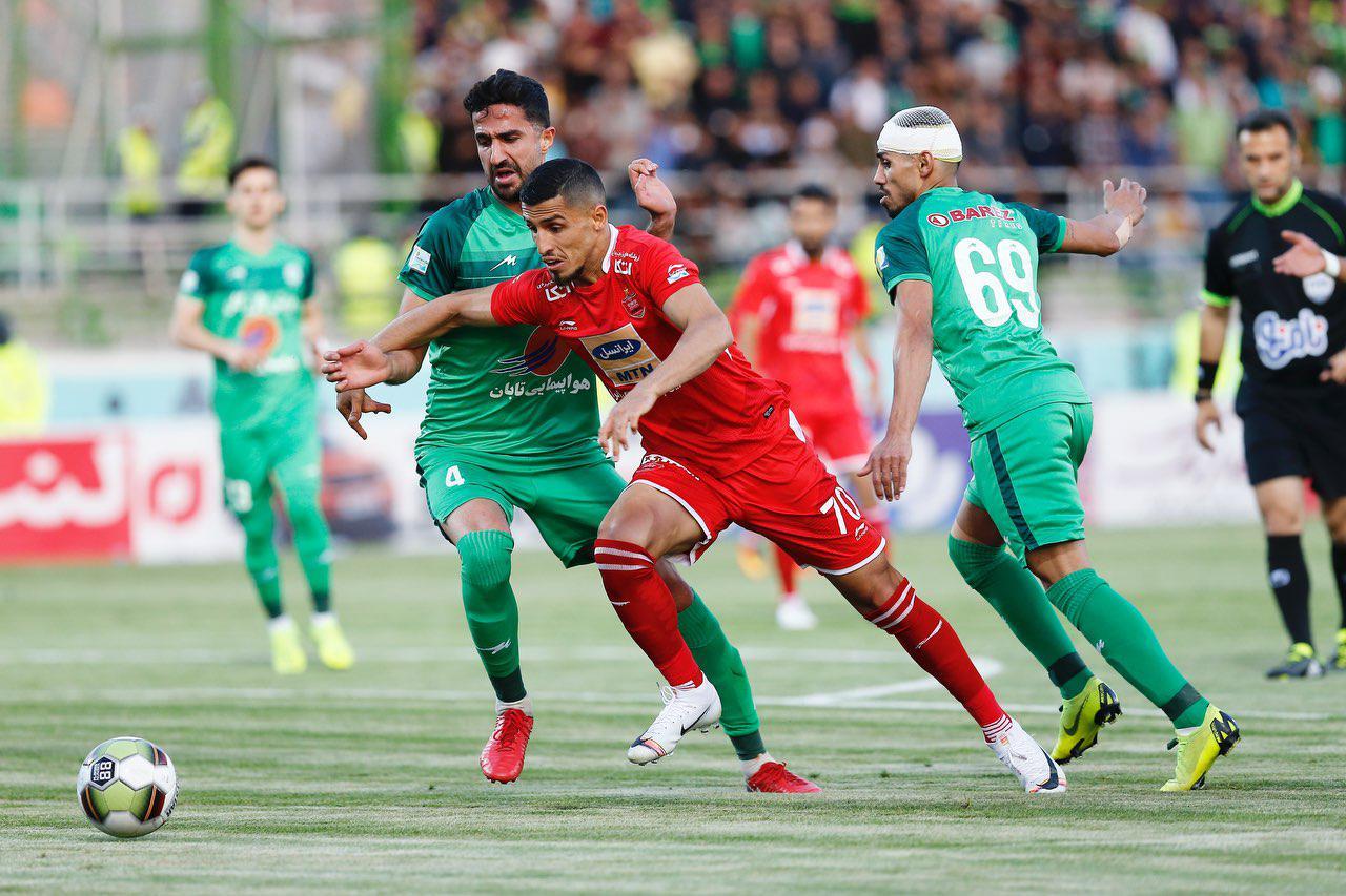 پخش زنده فوتبال ذوب آهن و پرسپولیس