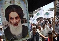 تظاهرات مردم عراق در دفاع از مرجعیت دینی این کشور+ تصاویر