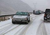 باشگاه خبرنگاران -بارش باران و برف در محورهای مواصلاتی استان اردبیل