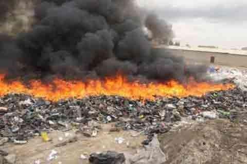 اطفاء١٠٩ مورد پسماندسوزی در تهران در هفته گذشته / اتوبان تهران ساوه رکورد دار این معضل