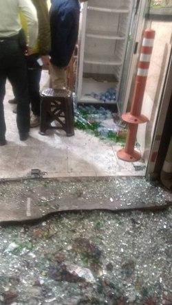اولین تصاویر از صحنه تیراندازی در خیابان خاتم الانبیا