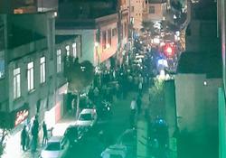 گزارش تصویری از ماجرای تیراندازی به سمت قهوه خانه در خیابان خاتم الانبیا تهران