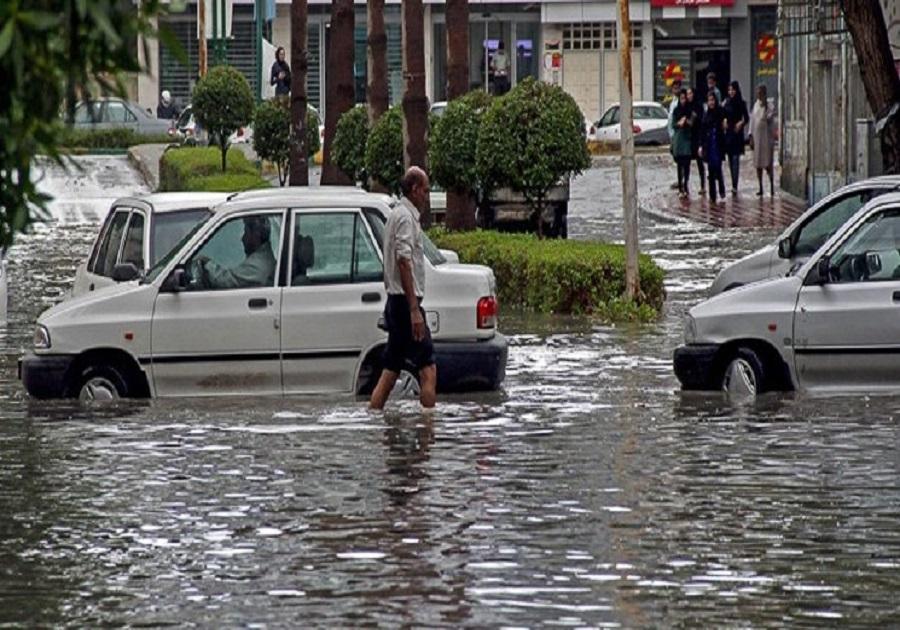 احتمال آبگرفتگی شدید معابر عمومی و وقوع سیلاب در استان بوشهر