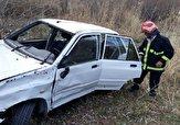 باشگاه خبرنگاران -زخمی شدن ۴ نفر بر اثر واژگونی خودرو در جاده مهاباد-سردشت