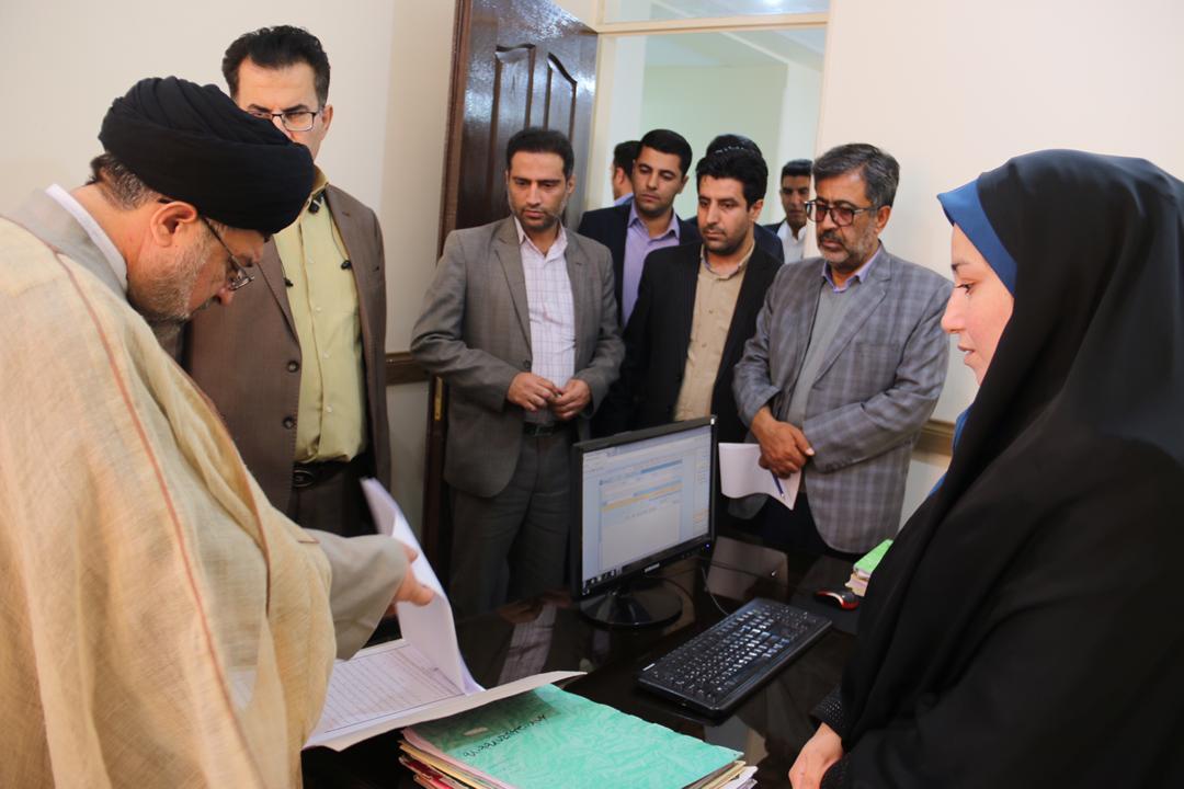 بررسی وضعیت خدمات رسانی قضایی در حوزههای غرب فارس