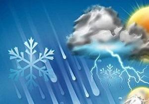 تداوم بارش برف وباران در کردستان تا اواسط هفته
