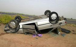 مرگ یک نفر در واژگونی پژو ۴۰۵