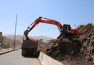 روژه بلوار ۲۴ متری کمربندی آبیدر تکمیل شد