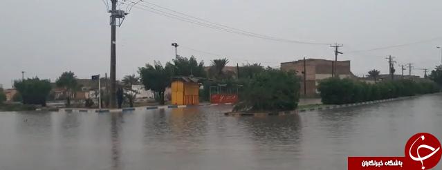 بازهم خیابانهای اهواز در فاضلاب غرق شدند/مسئولان چه زمانی بیدار میشوند؟