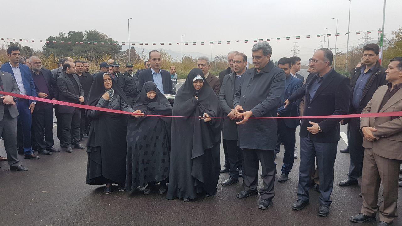 افتتاح فاز اول بزرگراه شهید رستگار
