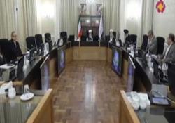 حضور دوربین یک برنامه تلویزیونی در جلسه رسمی شورای نگهبان برای اولین بار + فیلم