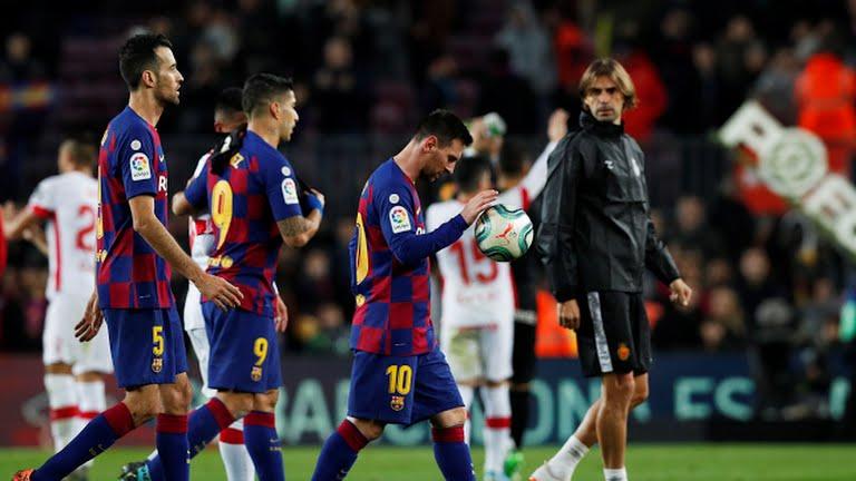بارسلونا ۵ - مایورکا ۲ / پیروزی پر گل آبی ناری پوشان و بازگشت به صدر