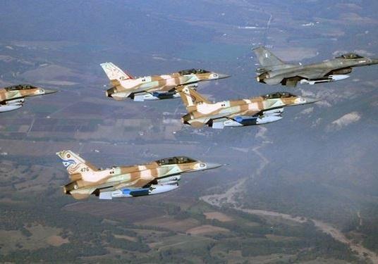 تجاوز جنگندههای رژیم اشغالگر صهیونیستی علیه غزه