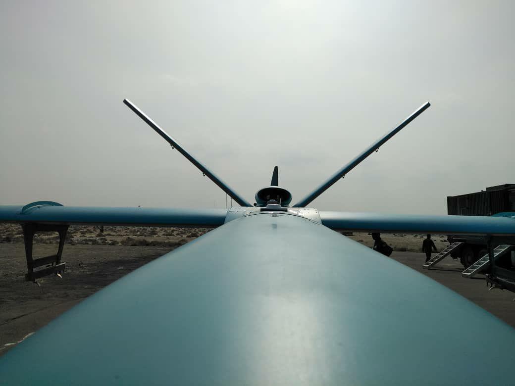 پهپاد دریاپایه سیمرغ؛ چشم نیروی دریایی ارتش در آبهای آزاد + تصاویر