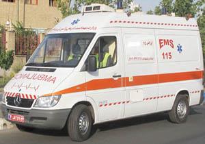 تولد نوزاد عجول لردگانی در آمبولانس اورژانس