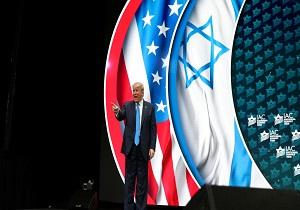 ترامپ: آمریکاییها باید بیشتر عاشق اسرائیل باشند