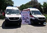 باشگاه خبرنگاران -تحویل ۲ دستگاه آمبولانس پیشرفته به ناوگان اورژانس بیجار