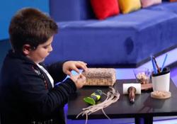 کودک ۸ ساله ایرانی، افتخار هنر معرق! + فیلم