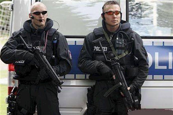 کشته شدن یک مهاجم به دست پلیس آلمان