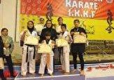 باشگاه خبرنگاران -درخشش دختران کاراته مشکین شهری با ۵ طلا و یک نقره