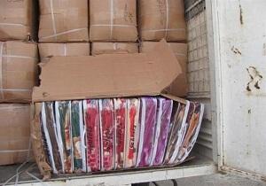 کشف کالای قاچاق در همدان