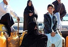 باشگاه خبرنگاران -سرگردانی مردم سیستان و بلوچستان برای تهیه گاز + فیلم