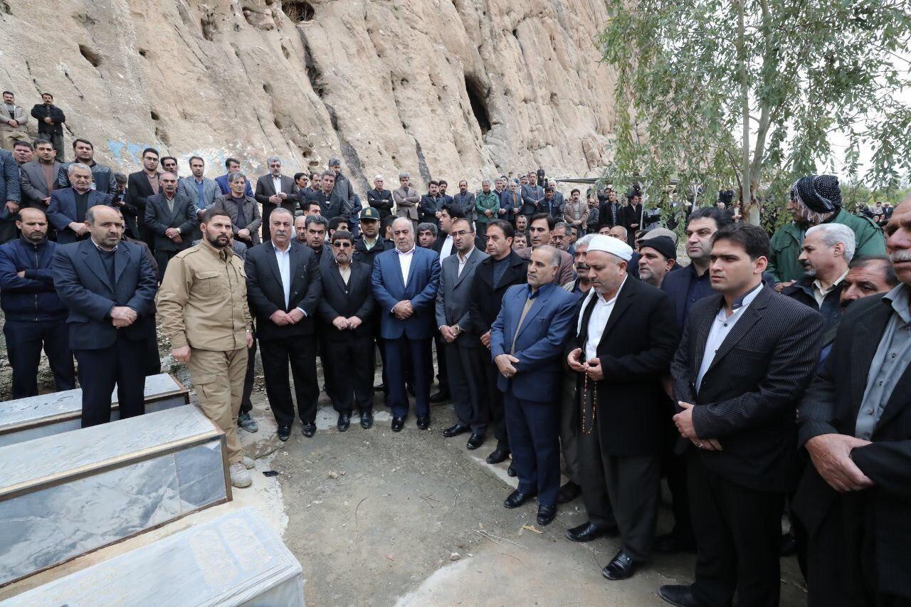 برگزاری مراسم خاکسپاری شهردار قصرشیرین