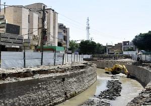 اتمام قطعه اصلی پروژه ساماندهی آبشوران