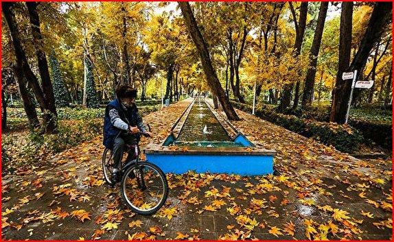باشگاه خبرنگاران -پاییز در چهار باغ اصفهان به روایت تصویر