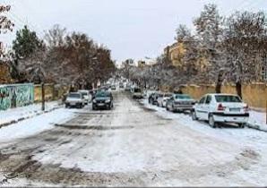 یخ زدگی معابر و کاهش ۷ درجهای دما در استان همدن