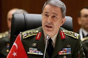 وزیر دفاع ترکیه: آنکارا هیچ چشمداشتی نسبت به اراضی کشورهای همسایه ندارد