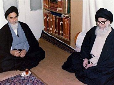 تنها مرجعی که با تهدید شاه از امام خمینی حمایت کرد