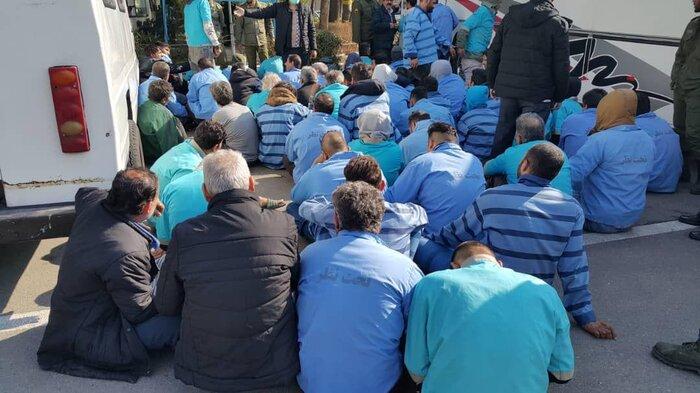 جمع آوری ۲۰۰ معتاد متجاهر طی روزهای اخیر در ایلام