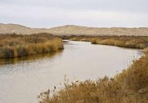 جاری شدن آب زاینده رود در تالاب گاوخونی