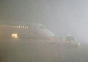 مه گرفتگی هواپیماهای فرودگاه اهواز را زمین گیر کرد
