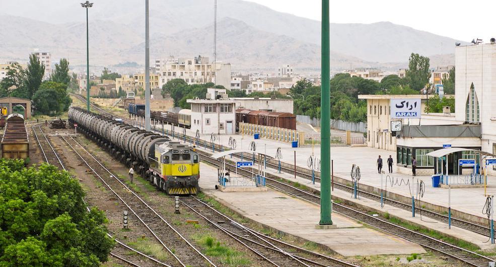 نام ایستگاه راه آهن اراک و شرکت ماشین سازی در فهرست میراث صنعتی کشور