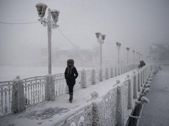 سردترین نقطه مسکونی جهان + تصاویر