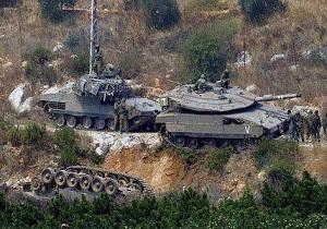 تانک رژیمصهیونیستی در نزدیکی مرز با لبنان واژگون شد