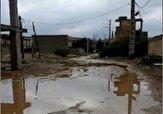 باشگاه خبرنگاران -اوضاع نامناسب خیابان در محله «کولرشاپ» مسجد سلیمان + فیلم