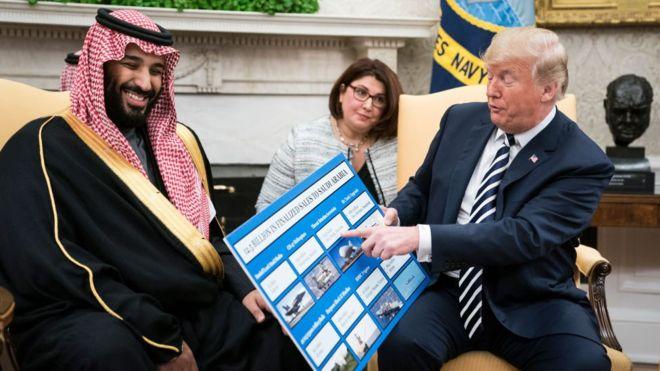 تحقیر آل سعود بهدست یانکیها/چرا ملک سلمان در برابر دونالد ترامپ زانو زد؟