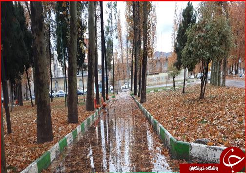 جلوه گری پاییز هزار رنگ در خیابان های خرم آباد به روایت تصویر