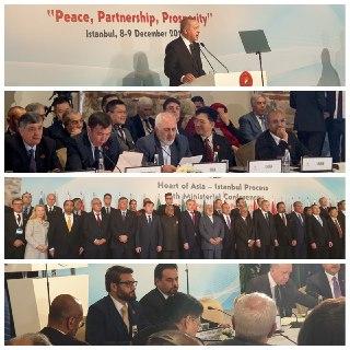 سخنرانی ظریف در هشتمین کنفرانس وزیران