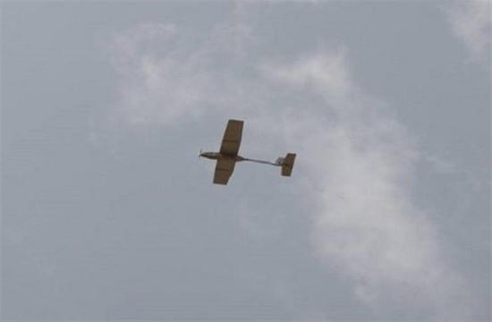 پرواز پهپاد دست پرتاب