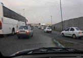 باشگاه خبرنگاران -ورودی خطرناک در بزرگراه تهران - کرج + فیلم